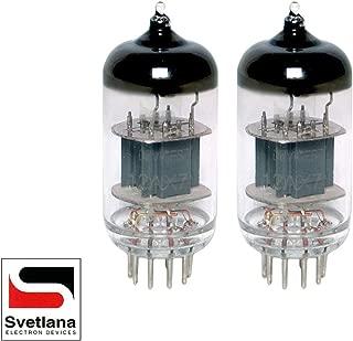 Gain Matched Pair (2) Svetlana 12AX7 ECC83 [Winged =C= SED Reissue] Vacuum Tubes