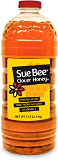 Sue Bee Pure USA Clover Honey, 5 Pounds