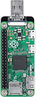 Kathleen88 Expansion Module Zero USB Dongle for Raspberry Pi Zero Electric Durable Small Board Accessories Acrylic Shield Portable Front Back Side Breakout