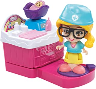 VTech flipsies Doll Clementine with Kitchen and Ice Cream Cart 3480 – 159522 Carina Set