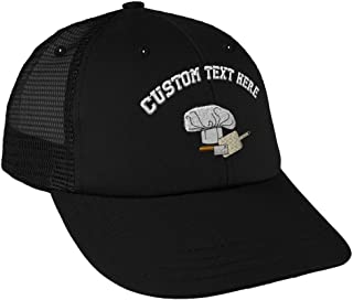 Custom Reflective Running Hat Cat Silhouette Embroidery Polyester One Size