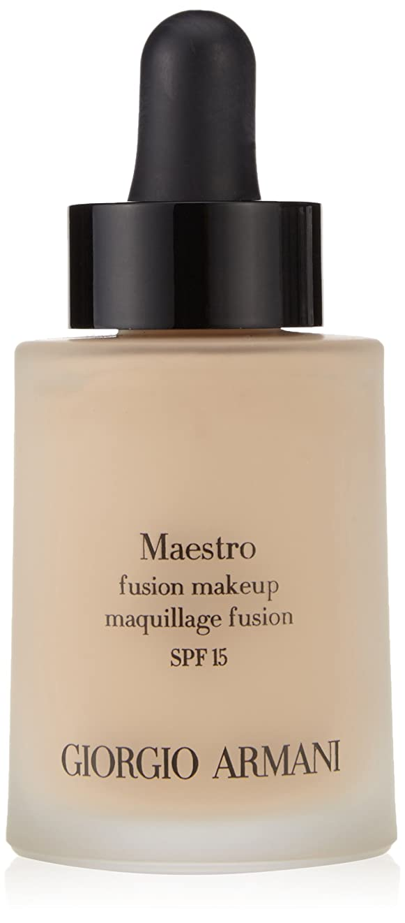 節約ランチお茶ジョルジオアルマーニ Maestro Fusion Make Up Foundation SPF 15 - # 3 30ml/1oz並行輸入品