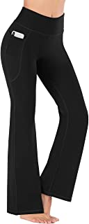 Bootcut Yoga Pants for Women with Pockets High Waisted...