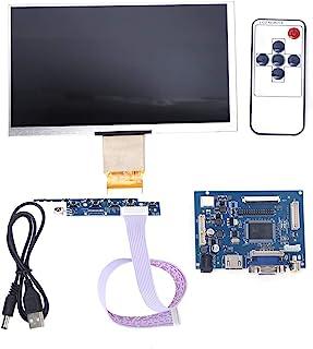 SANON 7 Inch LCD TFT-Scherm 1024 * 600 HDMI VGA-Beeldschermset Voor Raspberry Pi 3/2 en Computerscherm