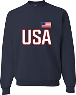 Best usa olympic crew neck sweatshirt Reviews