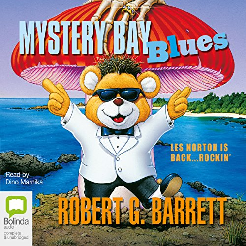 Mystery Bay Blues audiobook cover art