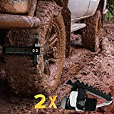 EZUNSTUCK Tire Anti-Skid Tool - RWD/AWD/4x4 SUV, Trucks, Pickup – EZ-D02ML Ultimate Get Unstuck...