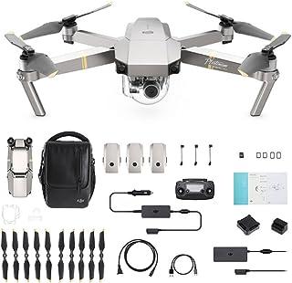 DJI Mavic Pro Platinum Fly More Combo - Dron Quadricóptero, Nivel de Ruido 4 dB, Duración de Batería en Vuelo 30 Minutos, ...