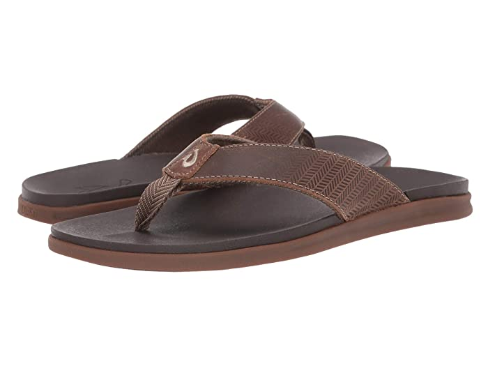 Alania  Shoes (Mustang/Dark Wood) Men's Sandals