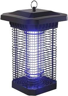 Leilims LED del Asesino del Mosquito de la lámpara a Prueba de Agua al Aire Libre Trampa for Insectos Asesino del parásito jardín de la luz Patios Descarga eléctrica Repelente