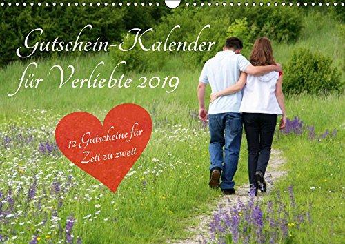 Gutschein-Kalender für Verliebte 2019 (Wandkalender 2019 DIN A3 quer): Überraschen Sie Ihren Partner mit 12 tollen Gutscheinen für mehr Zeit zu zweit! (Monatskalender, 14 Seiten ) (CALVENDO Menschen)