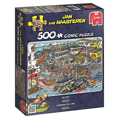 Puzzle Sea Port, 500 Piezas (619012)