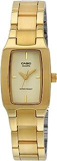 Casio Women's Quartz Watch, Analog Display and Stainless Steel Strap LTP-1165N-9C