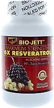 Bio-Jett Maximum Strength 6X Resveratrol 250 capsules