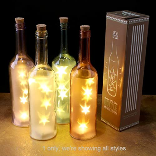 Botella clásica de vidrio con ...