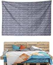 HuaWuChou Piano Jazz Melody Music Tapestry, Wall Hanging Decor Decoration Beach Blanket Dorm Room Bed Sheets, 90.5W x 59L Inches