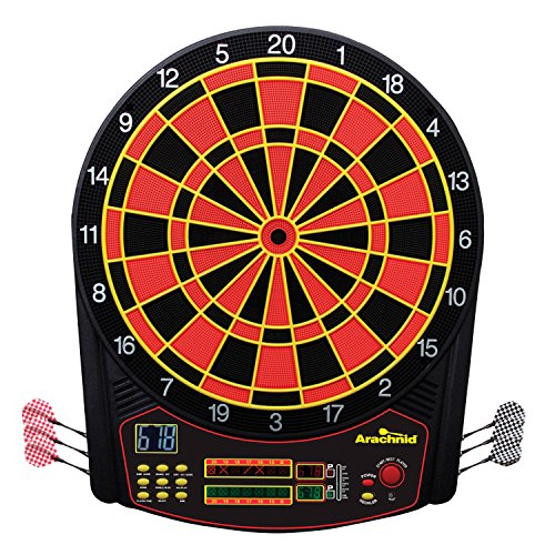 Arachnid Cricket Pro 450 Electronic Dartboard...