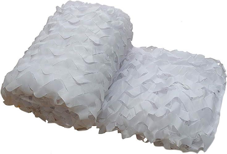 Filet de camouflage parasol multi-usage Filet de camouflage de neige en tissu Oxford pare-soleil invisible Isolant en toile de fond de décoration de fond Décoration de thème Multi-taille en option (ta