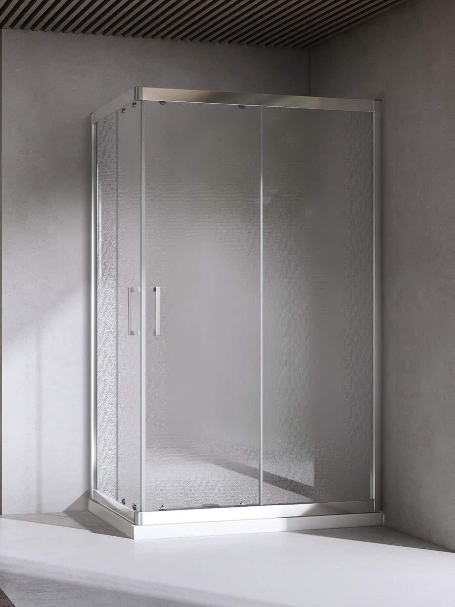 Yellowshop-Box - Mampara de ducha o baño, rectangular. Tamaño: 70 ...