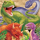 Creative Converting Dino Blast 16 Count 3-Ply Paper Lunch Napkins