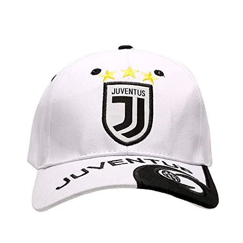 8f783059b35 FOOT-ACC New Season Juventus Embroidered Authentic Soccer Cap Hat White  Fans Baseball Cap