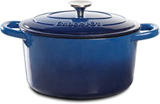 Crock Pot 69142.02 Dutch Oven, 5-Quart, Blue