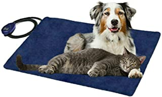 Waterproof Electric Pet Heating Pads Heated Dog Cat Bed Mat Thermal Protection Puppy Kitty Heater Safe AU Standard (65x40c...