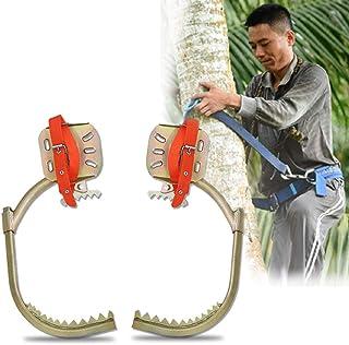 GBHJJ Klättring träd spikar, klätterträd artefakt elektriker trästång fotspänne, justerbar diameter, för jakt observation,...