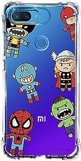 Capa Personalizada Xiaomi Mi 8 Lite - Super Heróis - TP118