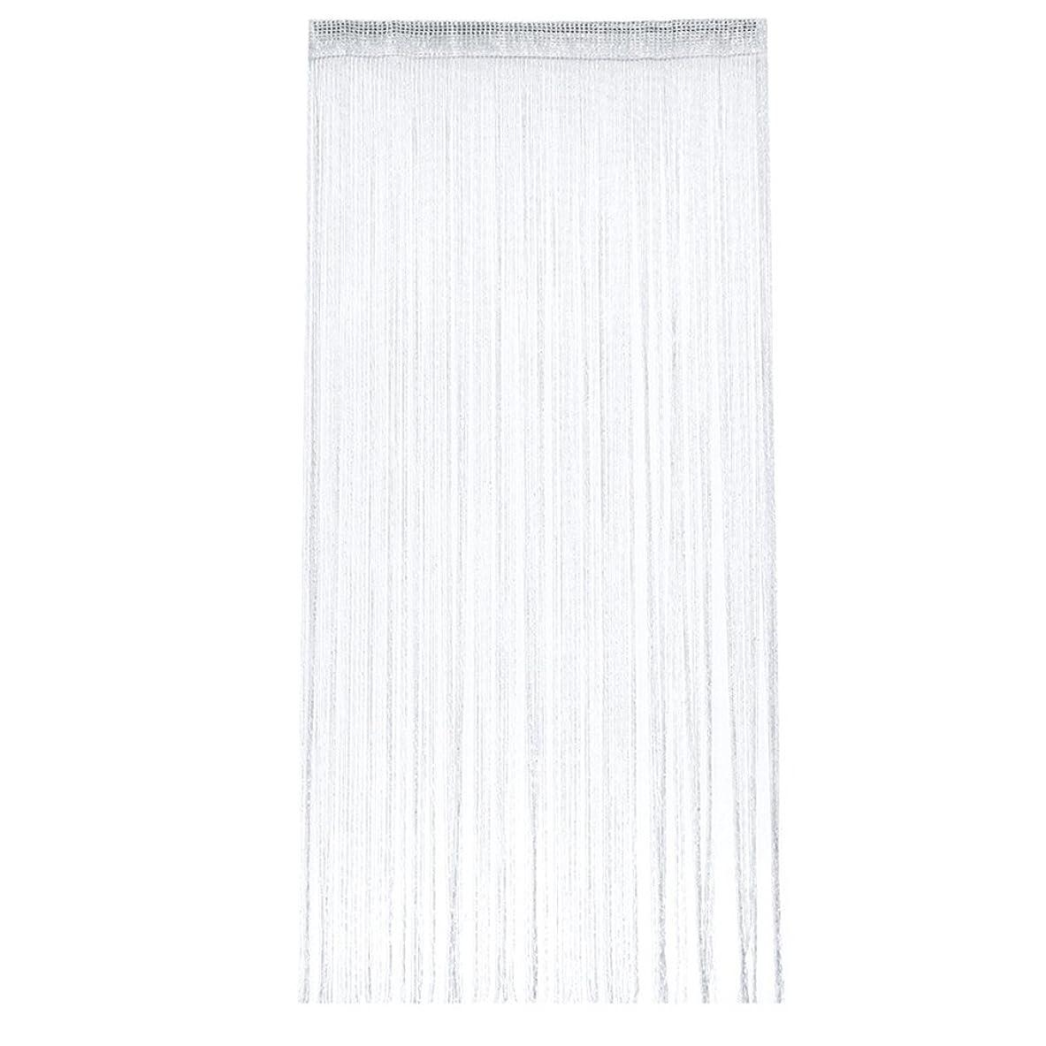 目指す鋼それKLUMA キラキラ光る 紐のれん ストリングカーテン ひものれん 目隠し 100x200cm  全11色