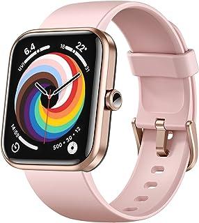 Dirrelo - Reloj inteligente para teléfonos Android compatible con iPhone, Alexa integrado Smart Watch para mujer, pantalla...