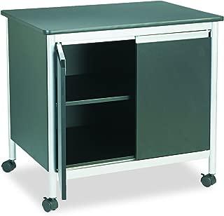 Safco Deluxe Machine Stand, Black/Silver