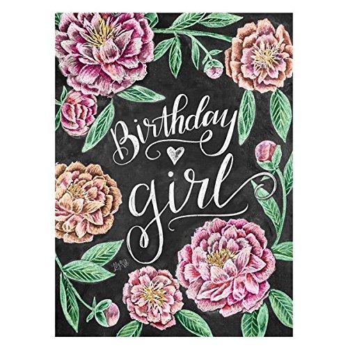 Verjaardag Meisje Card Door Portico Ontwerpen - Verjaardagskaart