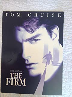 Tom Cruise original Movie Premiere program of The Firm screening