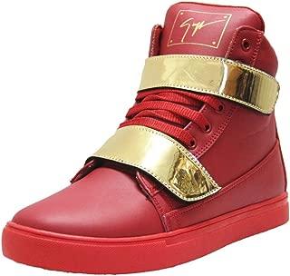 West Code Men's Gold Sneakers