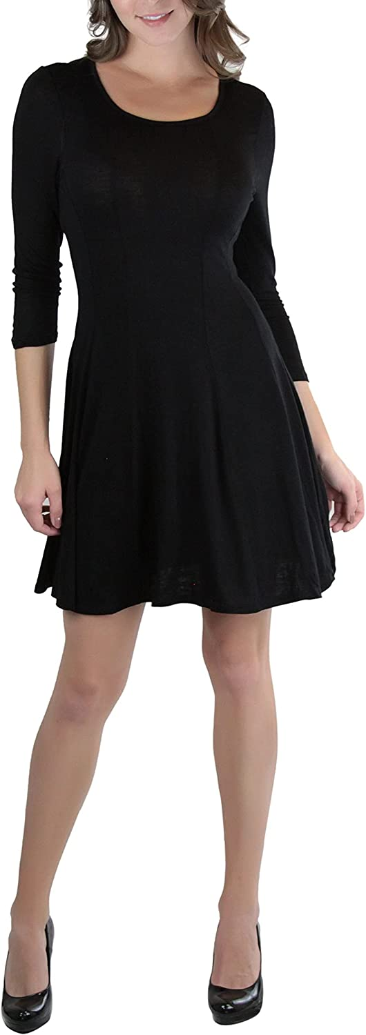 ToBeInStyle Classic Fit Skater A-line Flared Dresses