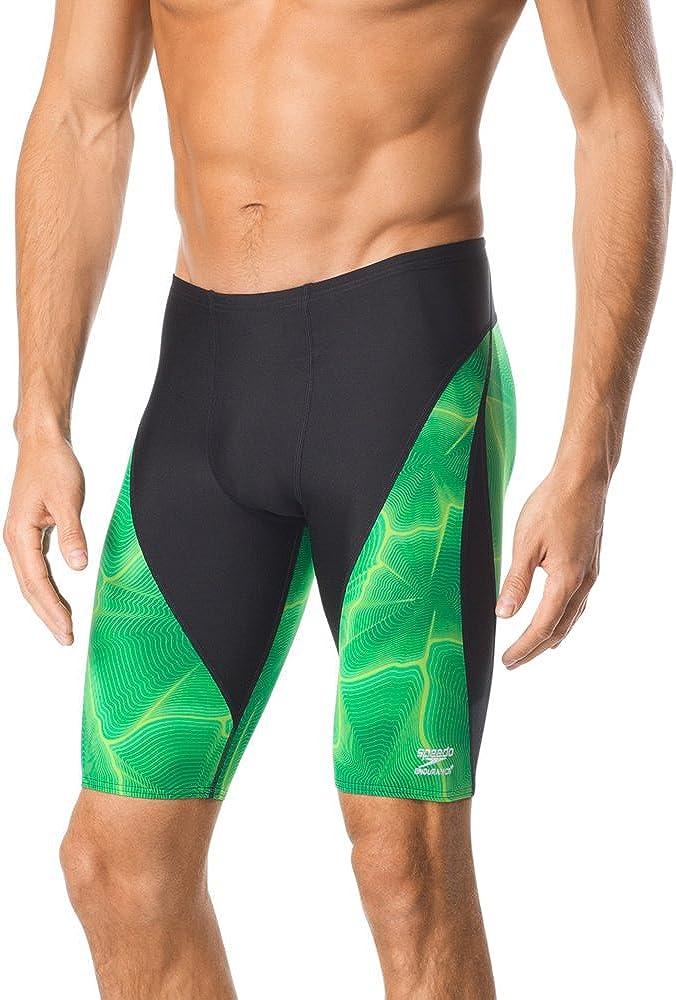 Speedo Popular Max 57% OFF standard Men's Swimsuit Jammer Static Endurance+ Boom-Discontinued