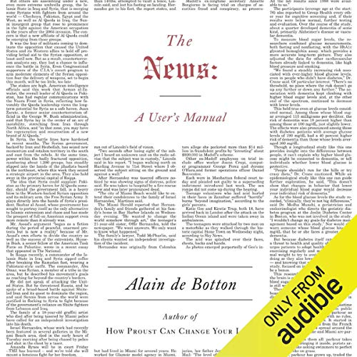 The News audiobook cover art