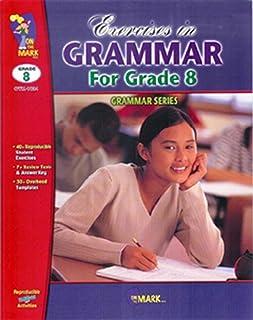 On The Mark OTM1824 Exercises In Grammar Grade 8