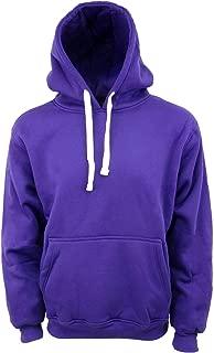 Henry & William Men's Basic Style Heavy-Weight Pull Over Hooded Fleece Sweatshirt