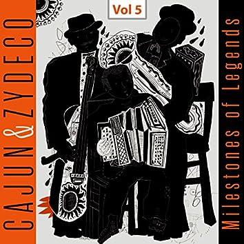 Milestones of Legends - Cajun & Zydeco, Vol. 5