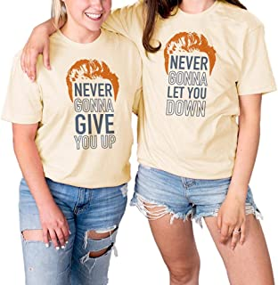 Best never gonna give you up shirt Reviews