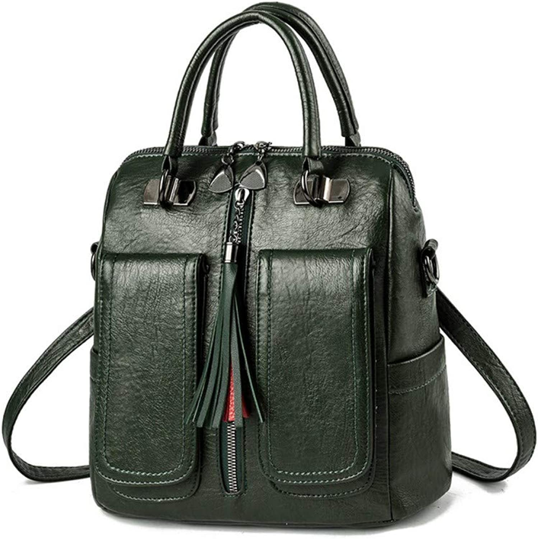 MSFANGDAN Frauen Shoulder Bag Fashion Handtasche Schultertasche Vintage Brieftrger Paket Damen Neue Freizeitaktivitten Messenger Bags Multifunction Reise Rucksack