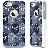 Unnito iPhone 5 Case – Hybrid Commuter Case | Slim Cover with Hard Shell Design and Soft Inner Layer Compatible with iPhone 5S / SE White Case - Dr Who Phone Booth