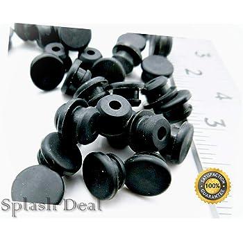 FIX-GR-16-10pcs Grommet; Panel cutout diam:14.7mm; Hole dia:7mm; rubber;...