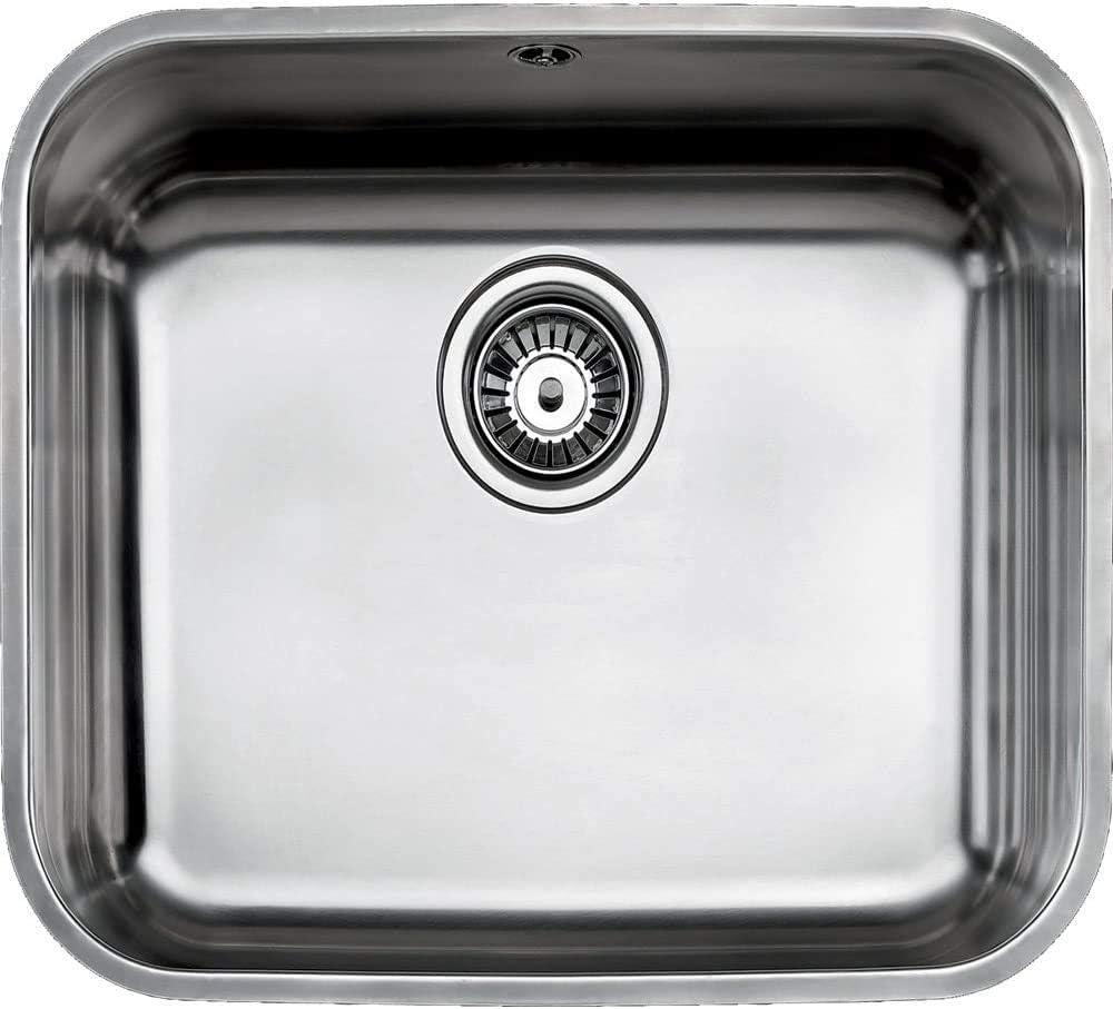 Fregadero Teka Bajo Encimera Be 45.40.20 Color Inox Ref 10125123 Mueble De 60 Cm