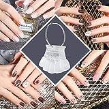 Nail Tip Stick, 50pcs Nail Art Practice Tips Manicure Polish Gel Color Display Esmalte de uñas que muestra también(2)