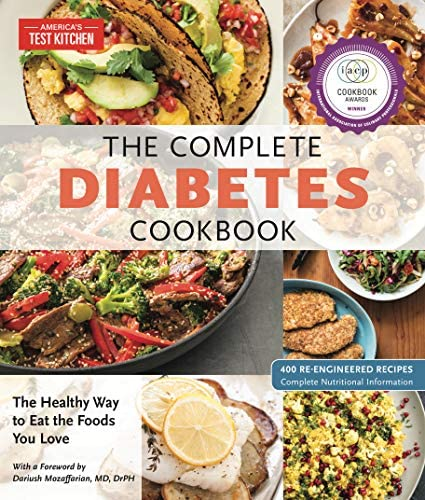 The Complete Diabetes Cookbook The Healthy Way to Eat the Foods You Love The Complete ATK Cookbook product image