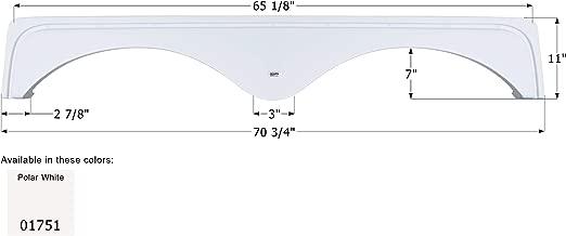 ICON Fender Skirt, Tandem, Keystone, FS1751, Polar White