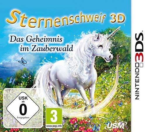 Gwiaździsta ognia 3D - tajemnica w magicznym lesie - [Nintendo 3DS] – wersja niemiecka
